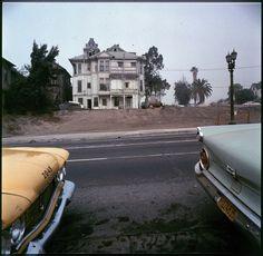 walker evans - brousseau mansion. bunker hill, 1960