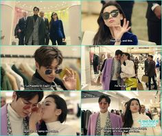 Joon jae and shim cheong shopping and she only thoughts of what's to eat next - The Legend of the Blue Sea - Episode 9 Legend Of The Blue Sea Kdrama, Legend Of Blue Sea, All Korean Drama, Korean Dramas, Legend Of The Blue Sea Wallpaper, Lee Min Ho Kiss, Heo Joon Jae, Song Joon Ki, Good Morning Call