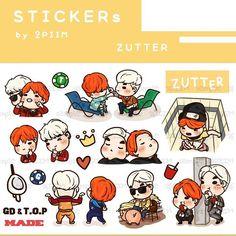 [Pre-order] 2PIIM Stickers :: ZUTTER รายละเอียดปักหมุดไว้หน้า twitter 2piim แล้วนะคะ // worldwide ship more info. contact twitter/line 2piim ^^