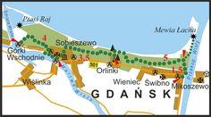 PTTK - Znakowane Szlaki Turystyczne Województwa Pomorskiego - Start Map, Travel, Viajes, Location Map, Destinations, Maps, Traveling, Trips