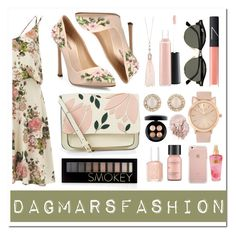 """Get the Look: Met Gala 2016"" by dagmarsfashion ❤ liked on Polyvore featuring VILA, Giambattista Valli, Accessorize, Forever 21, Oasis, MAC Cosmetics, Kate Spade, Ray-Ban, Essie and Perricone MD"