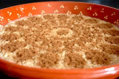 "Arroz Doce (""Sweet Rice"") - Although the origin of this dessert is attributed to the Portuguese, there are other recipes of rice cooked in milk, sugar, cinnamon and lemon, dating from the sixth century BC. In Portugal, this dessert is mandatory in celebration days of all kinds."