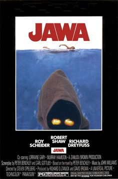 Jaws mashed with Star Wars