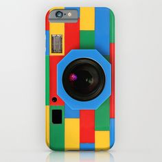 So colorful and very eye catching! I love the camera look and also it reminds me of legos the pattern is very appealing.