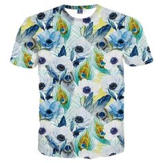 b78f06405b253 T-shirt 3D print, Floral - boysofmtl - Men's Clothing and Fashion Fleurs,