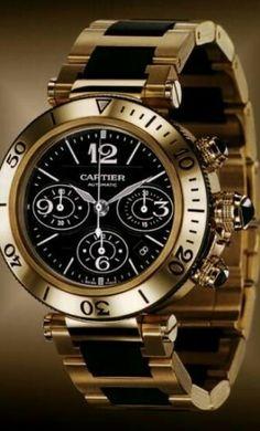 CARTIER MENS WATCH #watch #timepiece