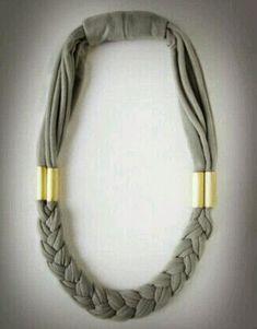 Mi baúl de Inspiraciones : Pulseras y collares de trapillo ;)
