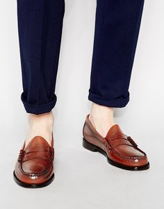 G.H. Bass GH Bass Larson Penny Loafers - Brown
