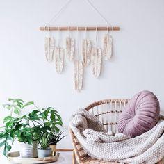 Winter Garden, Hanging Chair, Boho Fashion, Macrame, Feather, Furniture, Design, Home Decor, Bamboo