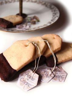 Des biscuits en forme de sachets de thé pour un goûter original !