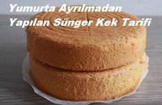 Evde yapması gerçekten maharet isteyen ve kek kabartma sırlarının sizlerle . Everyone can make the recipe of sponge cake made without leaving the eggs, which really wants to be dexterous at h Edible Cake Decorations, Baking Secrets, Homemade Beauty Products, Sponge Cake, How To Make Cake, Cornbread, Nutella, Donuts, Tart