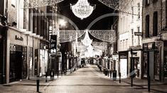 Pics: You need to see these 21 stunning photos of Ireland Christmas Night, Xmas, Grafton Street, Dublin Ireland, Abandoned, Fine Art Prints, City, Places, Effort