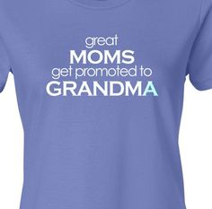 It is also a great surprise pregnancy announcement for the grandma to be