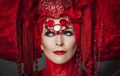 Toyah Willcox as the Queen of Hearts by Gary Clutterbuck From http://toyahwillcox.com/stocking-filler-toyah-in-wonderland-3