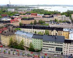 Helsinki, Finland ~  i like their blend of historical & modern