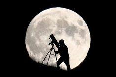 Brighton England: September 2015: Der Mann im Mond
