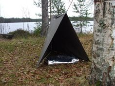Another hot day in the sub-Arctic, plus a few poncho shelter setups « The Weekend Woodsman