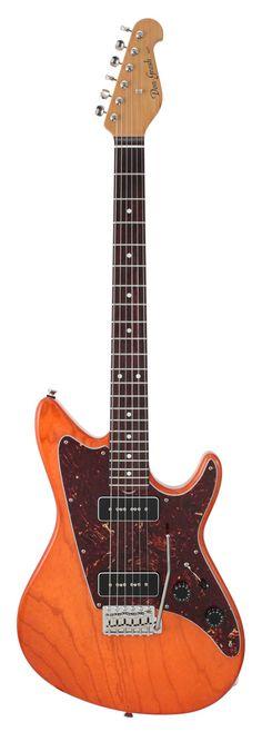 Grosh Guitars Electrajet Custom Orange Ash