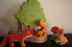 Holztiger Forest Animals