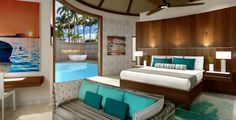 Sandals Royal Barbados Accommodations - South Seas Royal Rondoval Butler Suite w/ Private Pool Sanctuary - RPP