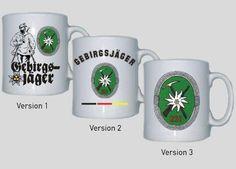 Tasse GebJgBtl 231 - Gebirgsjägerbataillon 231 der Bundeswehr / mehr Infos auf: www.Guntia-Militaria-Shop.de
