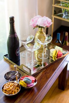 Dreaming of a Pinterest-perfect bar cart? It's easier than you think... | Read more..