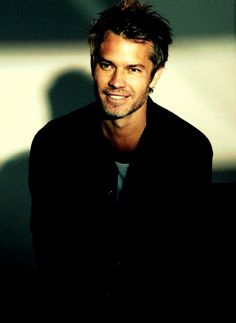 "Timothy Olyphant, you are a talented and manly man. My sister wants to have your sheriffy lawguy cowboy babies. This should happen. Marry my sister, and teach me how to say withering sarcastic things like you did in ""Live Free or Die Hard""."