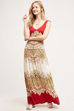 maxi dress overlay plate
