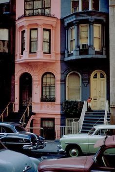 New York City, 1953 I love the pink ! New York in the a different world. Oh The Places You'll Go, Places To Visit, Foto Poster, City That Never Sleeps, Belle Photo, Adventure Awaits, New York City, Streets Of New York, Beautiful Places