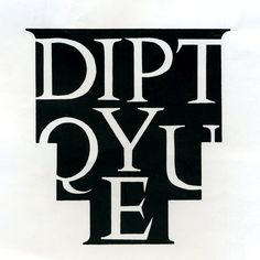 Diptyque lettering