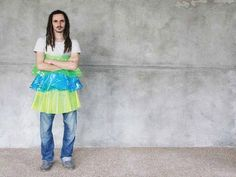 Artist creates Climate Change Couture for an apocalyptic future