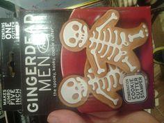 Spooky cookie cutters