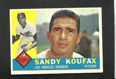 1960 Sandy Koufax Topps Baseball