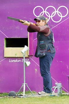 17: Best Olympian you have never heard of ~ Kim Rhode became the first American to medal in five consecutive Olympics, winning gold in skeet shooting. Even more impressive was her score of 99 out of 100 targets hit.          (Maja Hitij/dapd - AP Images)