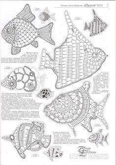 Irish crochet motifs - how to attach them Irish crochet motifs - how to attach them - haber Filet Crochet, Mandala Au Crochet, Art Au Crochet, Crochet Fish, Crochet Diagram, Freeform Crochet, Thread Crochet, Crochet Doilies, Crochet Flowers