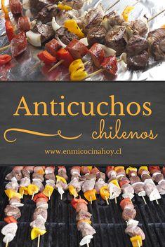 Los anticuchos chilenos se disfrutan todo el año, pero son fundamentales durante nuestras Fiestas Patrias, acá la receta tradicional.
