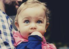 Bebê, Criança, À Procura, Menina, Infância, Caucasiano
