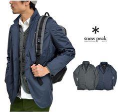 SNOWPEAK(スノーピーク)レインウィンドレジスタンスアーバンジャケット/テーラードジャケット【あす楽】