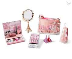 Find girls' makeup & makeup sets that are fun & easy to use! Shop products such as lip gloss, eye shadow & lip palettes, bronzers, powder, makeup bags & more. Justice Bags, Shop Justice, Justice Accessories, School Accessories, Kawaii Makeup, Cute Makeup, Justice Makeup, Ashley Clothes, Kids Makeup