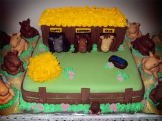 Delana's Cakes: Horses Cake and Cupcakes