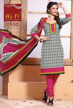 Hi-Fi Gaaz Printed Cotton suits ( 20 Pcs catalog )