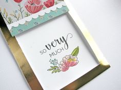 Scrapbook & Cards Today The Blog: Card Cafe Thursday + Nicole Nowosad + a process video!