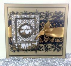 Sue Wilson - Festive Collection - Christmas Scene Mini Background Die. - Google Search