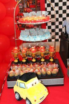 "Photo 1 of 11: Disney Cars / Birthday ""McQueen Fan"" | Catch My Party"