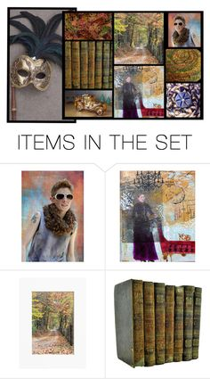 """Falling"" by whimzingers ❤ liked on Polyvore featuring art"