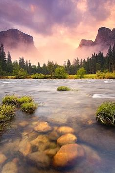 Yosemite National Park, California. Our goal is to catch a sunset and a sunrise at Yosemite this fall. Sleep might be an afterthought.