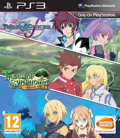 Tales of Graces F/Tales of Symphonia (PS3) 2 IN 1 BRAND NEW SEALED PLAYSTATION 3