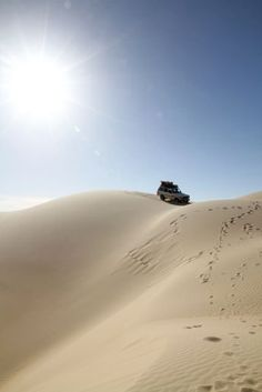 The dunes of Siwa.