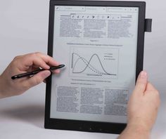 Sony's Digital Paper Tablet Lets the Office Go Paperless | Gadgets, Science