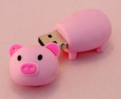 Piggy USB to match my pink macbook?! I think yes..i shall tell Neil i must have!